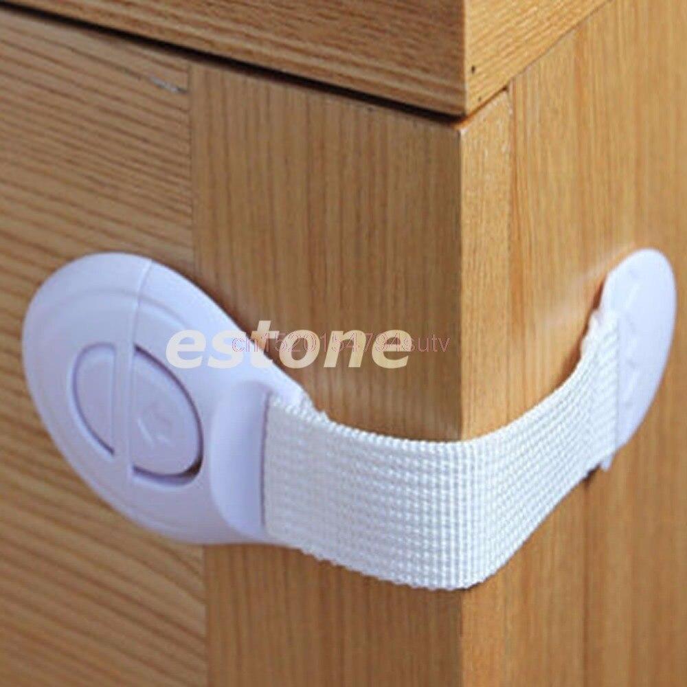 Enfants bébé enfant en bas âge sécurité porte serrure réfrigérateur tiroir toilette armoire armoire # H055 #