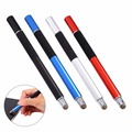 Universal 2 in 1 Precision Disc Capacitive Pen Touch Screen Drawing Pens Stylus For Smartphone PDAs Tablets