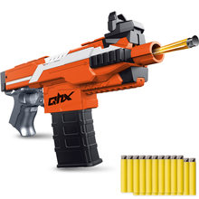 New MP7 Electric Burst Soft Bullet Gun Suit for Nerf bullets Children's Outdoor Toy Rifle Kids Gift Dart Blaster Toy Gun(China)