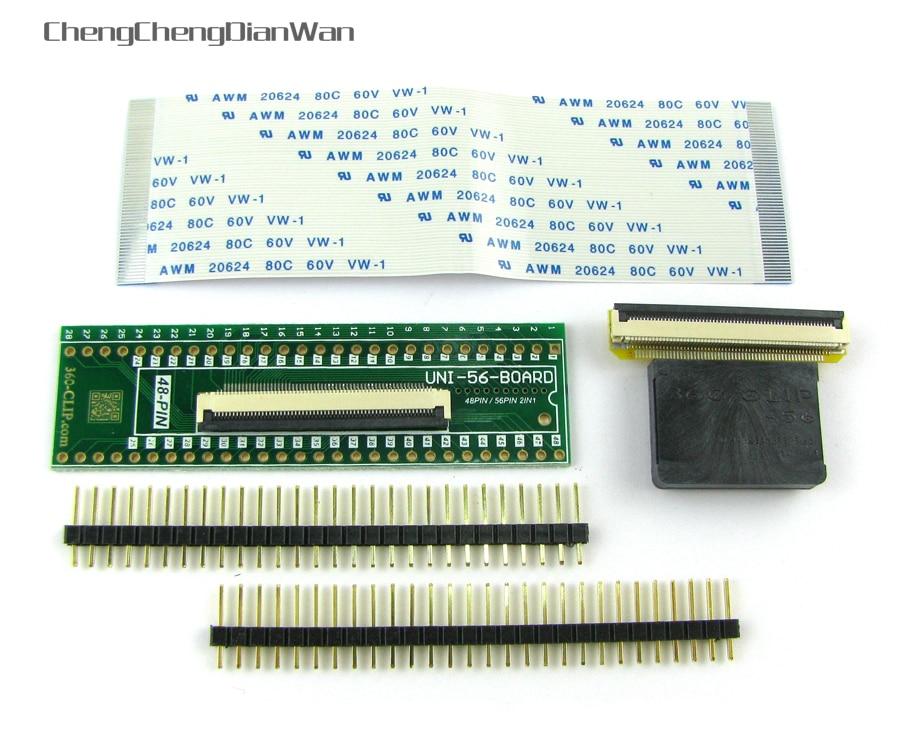 ChengChengDianWan 360 Clip uni 56pin (360 Clip 56pin) universel TSOP ni FLASH CHIP outil pour PS3/Progskeet trousse à outils sans soudure-in Pièces de rechange et accessoires from Electronique    1
