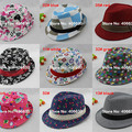 Spring Kids Fedora Hats Chapea Panama Hats Baby Boy Top Jazz Trilby Hats 12pcs/lot Free Shipping CBXB-001