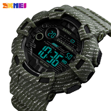 Men Wristwatch SKMEI Alarm-Clock Digital Military Outdoor Waterproof 2-Time Fashion Luxury