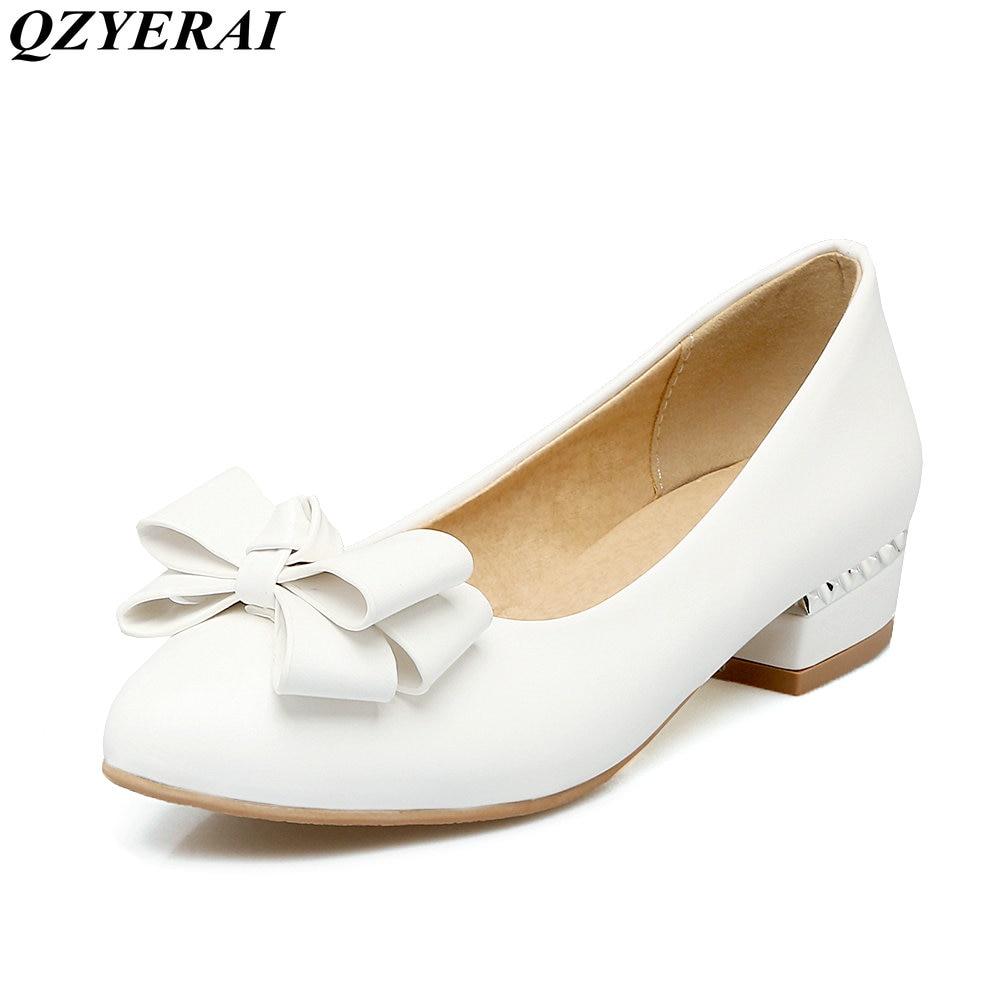 QZYERAI New arrivals spring font b women s b font single font b shoes b font