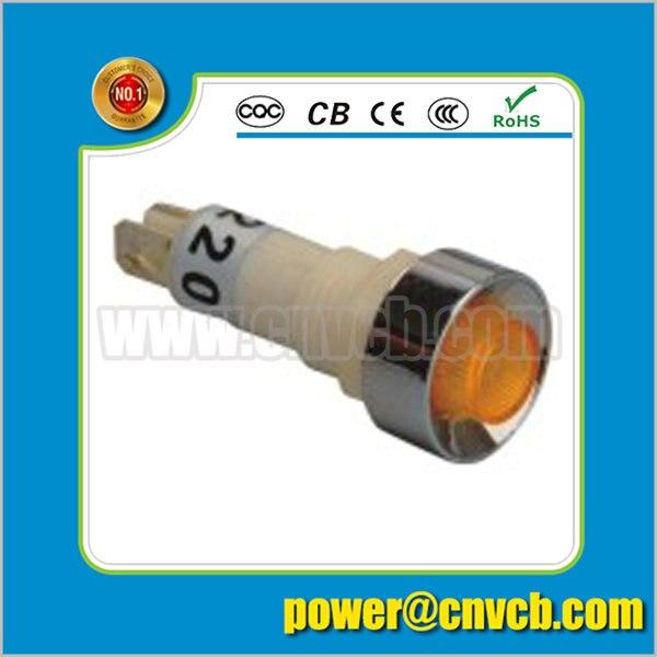 ZS58 yellow button Diameter M10 signal light indicator lamp pilot light indicator light