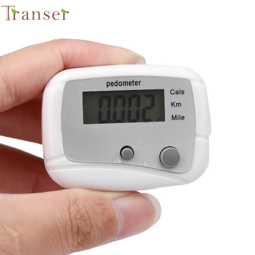 Activing  LCD Pedometer Step Walking Jogging Calorie Counter Distance Fitness+ Belt Clip DEC.7