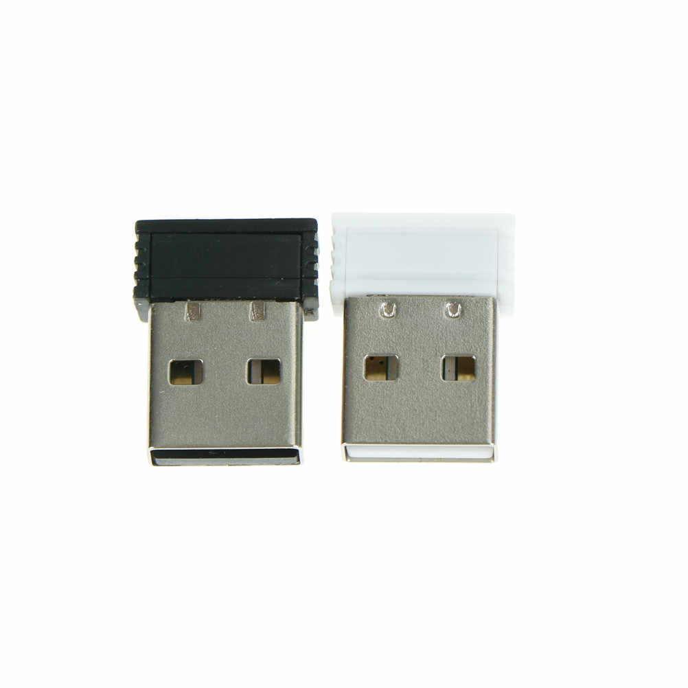 Dongle Nirkabel USB Receiver Untuk Laptop PC Dongle Receiver Unifying 2.4G Wireless Mouse dan Keyboard Adaptor 2x1.4cm