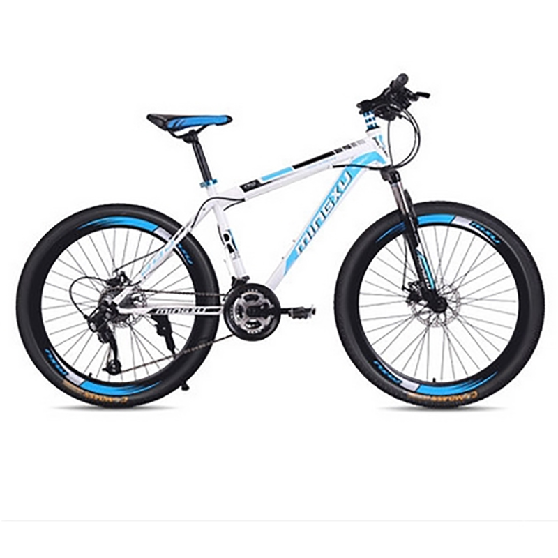 Drive Damping Double Pan Mountain Bike High Carbon Steel Frame 24 Speed 26 Inches.