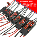 4Pcs Hobbywing Skywalker 12A 15A 20A 30A 40A 60A 80A Brushless ESC Speed Controler UBEC For RC FPV Quadcopter Airplanes Drone