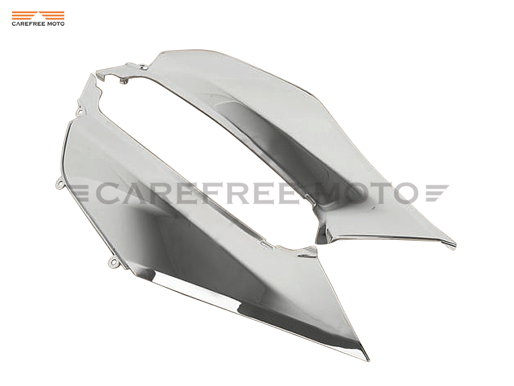 Chrome Motorcycle Mid Frame Cover Fairing Moto Chassis Decoration case for Honda Goldwing GL1800 GL 1800 2012 2013 2014 2015 unpainted white injection molding bodywork fairing for honda vfr 1200 2012 [ck1051]
