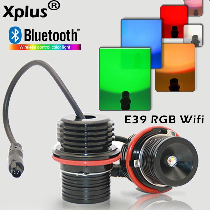 Xplus 20 W Wifi RVB E39 E53 E60 E61 E63 E65 E66 E87 Puces Cree LED Pour Yeux D'ange Marqueur Ampoules pour BMW 5 6 7 Série X3 X5 Marqueur