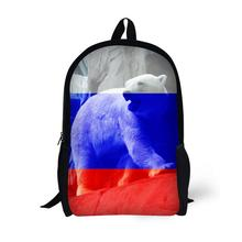 Flag Animal Printing Backpack Children School Bags For Teenager Boys Girls 17 Inch Backpacks Laptop Backpack Mochila Bag star universe printing backpack bag children school bags for teenager boys girls backpacks laptop backpack