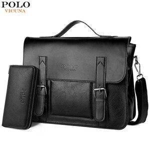 VICUNA POLO Business Men Bag D