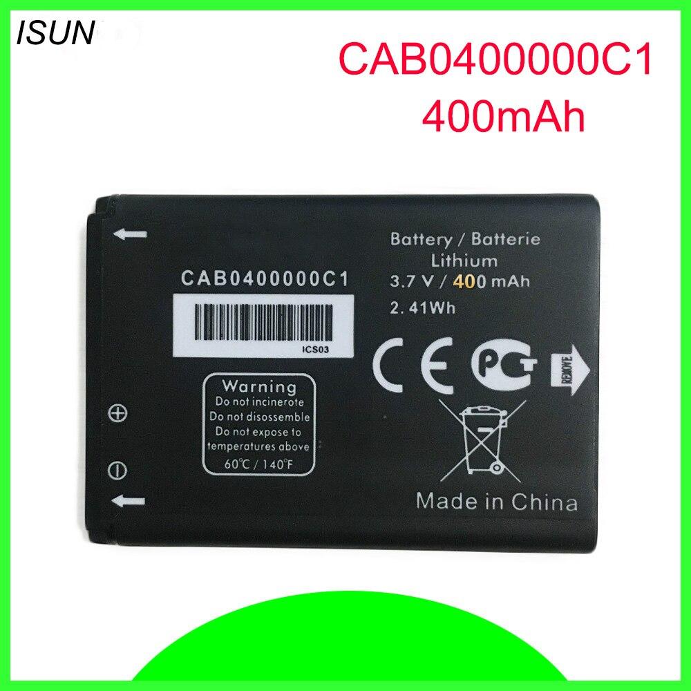 ISUNOO CAB0400000C1 TLi004AB CAB22D0003C1 CAB30M0000C2 batterie pour ALCATEL OT708 OT-708 OT-2010 OT-2010D OT-2010X OT-356 OT-665X