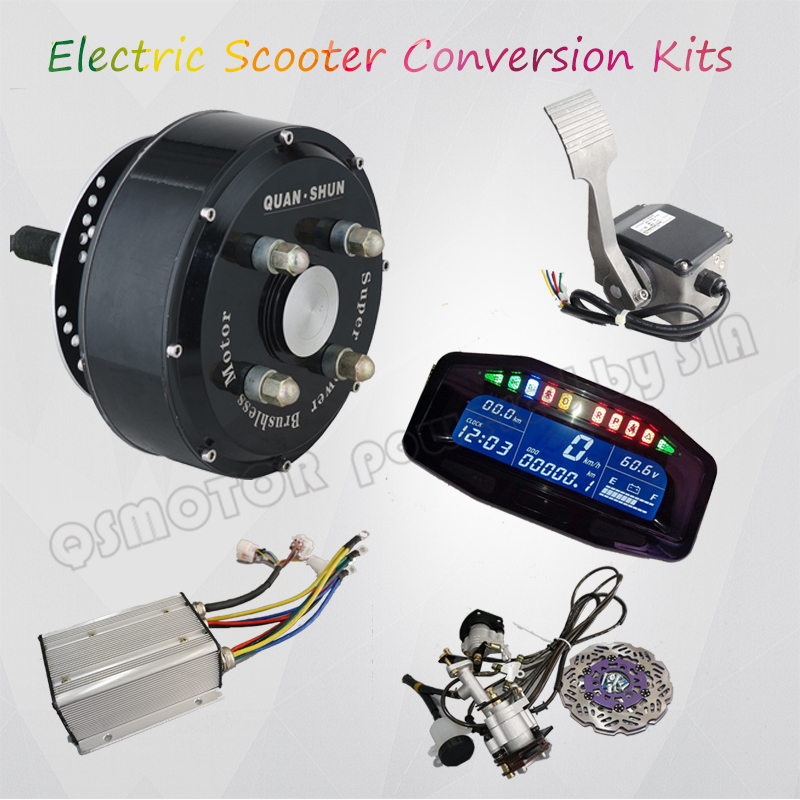 Pd750 Electric Motor Kit: Aliexpress.com : Buy 72V 90KPH Electric Car Motor