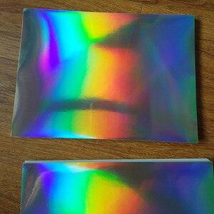 Image 5 - 30 แผ่น A4 กาวธรรมดาโฮโลแกรม PP ฟิล์มสติกเกอร์ป้ายพิมพ์โลโก้ 210 มิลลิเมตร x 290 มิลลิเมตรฟิล์มเลเซอร์