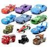 Disney Pixar Cars 3 2 Speelgoed Lightning Mcqueen De Koning Holly Francesco Mater 1:55 Diecast Metalen Legering Model Auto Kid gift Jongen Speelgoed