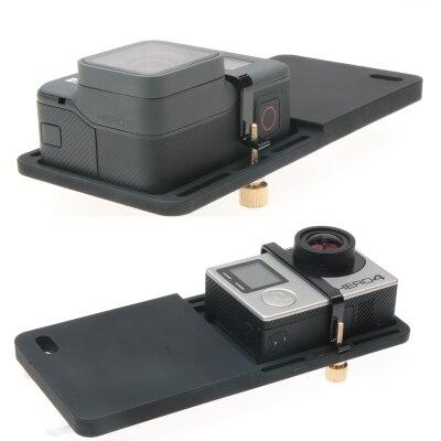 Handheld Gimbal Adapter for GoPro Hero 6 5 4 3+ Yi 4k Camera Switch Mount Plate for DJI Osmo Zhiyun Smooth Q Mobile