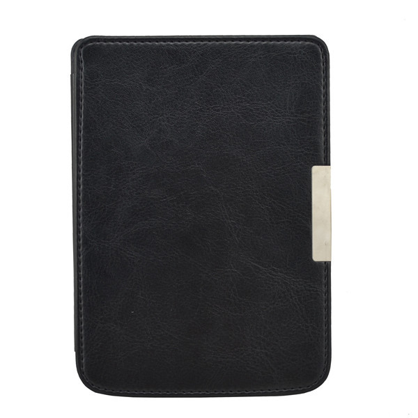 Magnet Closure PU Leather Original Hard Shell Smart Cover Case for Pocketbook 515 Mini Ebook + Screen Touch Stylus