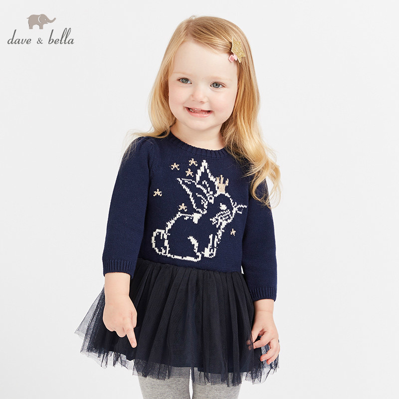 DB8497 dave bella baby girls dress Long sleeve autumn dresses kids girls dress children birthday party boutique dressDB8497 dave bella baby girls dress Long sleeve autumn dresses kids girls dress children birthday party boutique dress