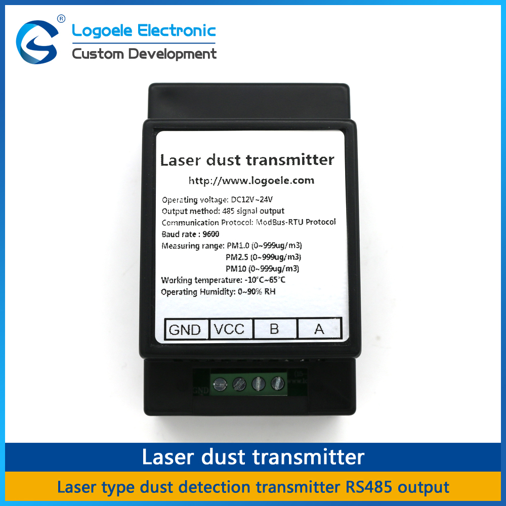 High quality RS485 Laser dust sensor module, , Laser dust transmitter PM1.0 PM2.5 PM10 free shipping pm2 5 detector uni t ut25m high precision laser pm2 5 air quality detection sensor module super dust dust sensors 0 500ug cubi