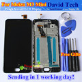 """High Quality New Touch Screen Digitizer + LCD Display Replacement For Meizu M3 mini 5.0"""" Cellphone Black Color  With Frame"""