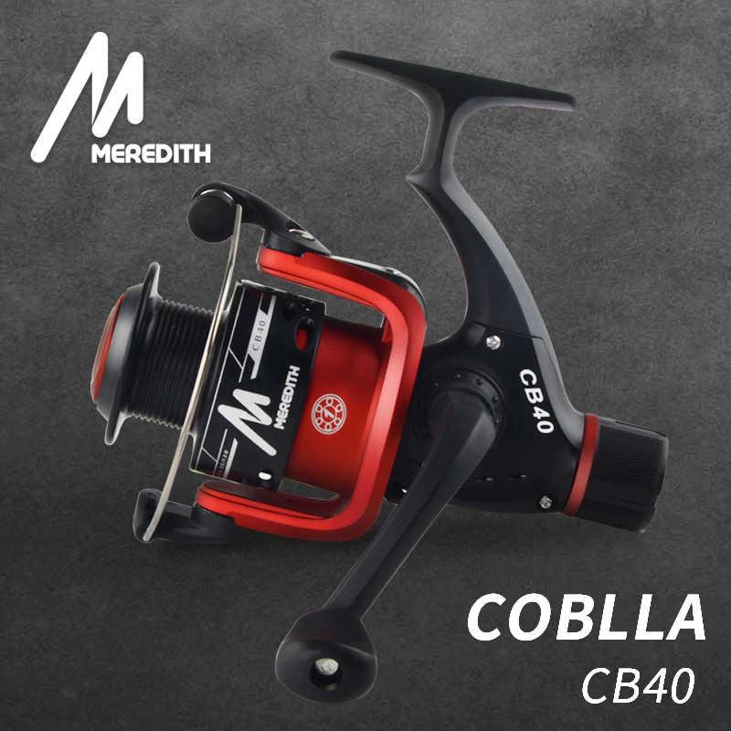Meredith cb40 altamente eficaz na redução de custos para a atração iniciante fisher 1bb relação 5.2: 1 carretel plástico barato molinete de pesca