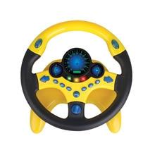 Моделирование рулевого колеса с светильник Детские Музыкальные Развивающие игрушки электронные вокальные игрушки для детей подарки на день рождения