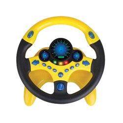 Symulacja kierownica ze światłem dziecko muzyczne rozwijanie zabawek edukacyjnych elektroniczne zabawki wokalne na prezenty urodzinowe dla dzieci