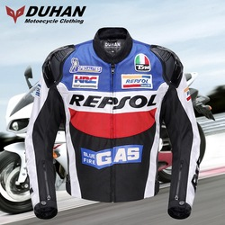 DUHAN personality motorcycle riding jacket clothes suit racing suit winter biker equipment motorbike clothing jackets D-VS03
