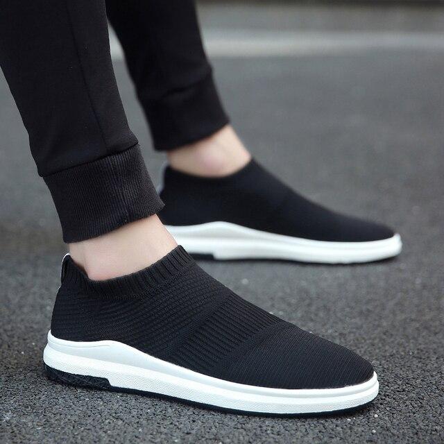 Krasovki männer Atmungs Slipony Sapato Männlichen Schuhe Erwachsene Mesh Tenis Beiläufige Schuhe Chaussures Hommes Zapatos Hombre Herenschoenen