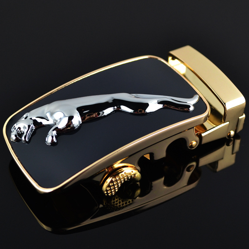 Genuine Men's Belt Head, Belt Buckle, Leisure Belt Head Business Accessories Automatic Buckle Width3.5CM Luxury Fashion LY187718