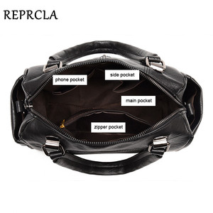 Image 5 - REPRCLA Luxury Women Bag Designer Leather Handbag Fashion Pillow Shoulder Bags Crossbody Female Tote Hand Bags Brand Bolsos