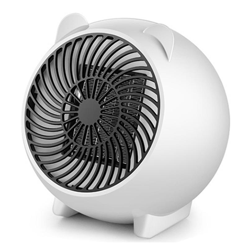 Mini Electric Table Fan Heater Fast PTC Air Warmer Portable Small ptc Ceramic Fan Heater Electric Warm Air Blower цена