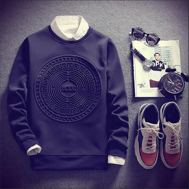 Fashion Pullover Hoodied Sweatshirt
