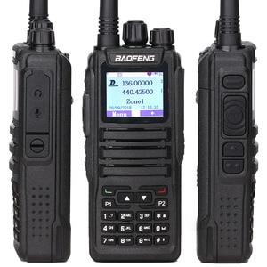 Image 3 - 2 Pcs Baofeng DM 1701 Walkie Talkie Dual Zeit Slot DMR Digitale Tier1 & 2 Tragbare Radio und SMS Funktion Von DM 5R DM 1701 Radio + USB