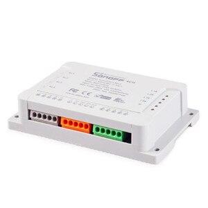 Image 2 - Itead Sonoff 4CH R2 Wifi Smart Switch 4 Gang Draadloze Afstandsbediening WiFi Lichtschakelaar App Controle Smart Home 10A 2200 W Werkt met Google