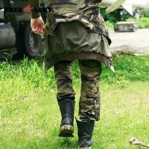 Image 4 - Freearmy marca cidade tático calças dos homens carga militar calças camo algodão muitos bolsos estiramento flexível homem casual 6xl