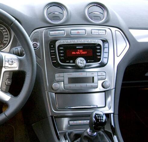 ZWNVA Tesla style Écran Android 7.1 RAM 2 GB ROM 64 GB Voiture Lecteur radio gps Écran Pour Ford Mondeo MK4 2007-2012