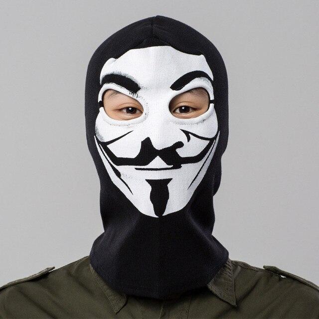 Film V Wie Vendetta Cosplay Maske Kostüme 2017 Neuen männer/frauen Fack Maske Halloween Prop Schwarz Hohe qualität