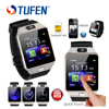 TUFEN Wearable Devices DZ09 Smart Watch Support SIM TF Card Electronics Wrist Phone Watch For Android