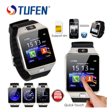 TUFEN Wearable Devices DZ09 Smart Watch Support SIM TF Card Electronics Wrist Phone Watch For Android smartphone Smartwatch
