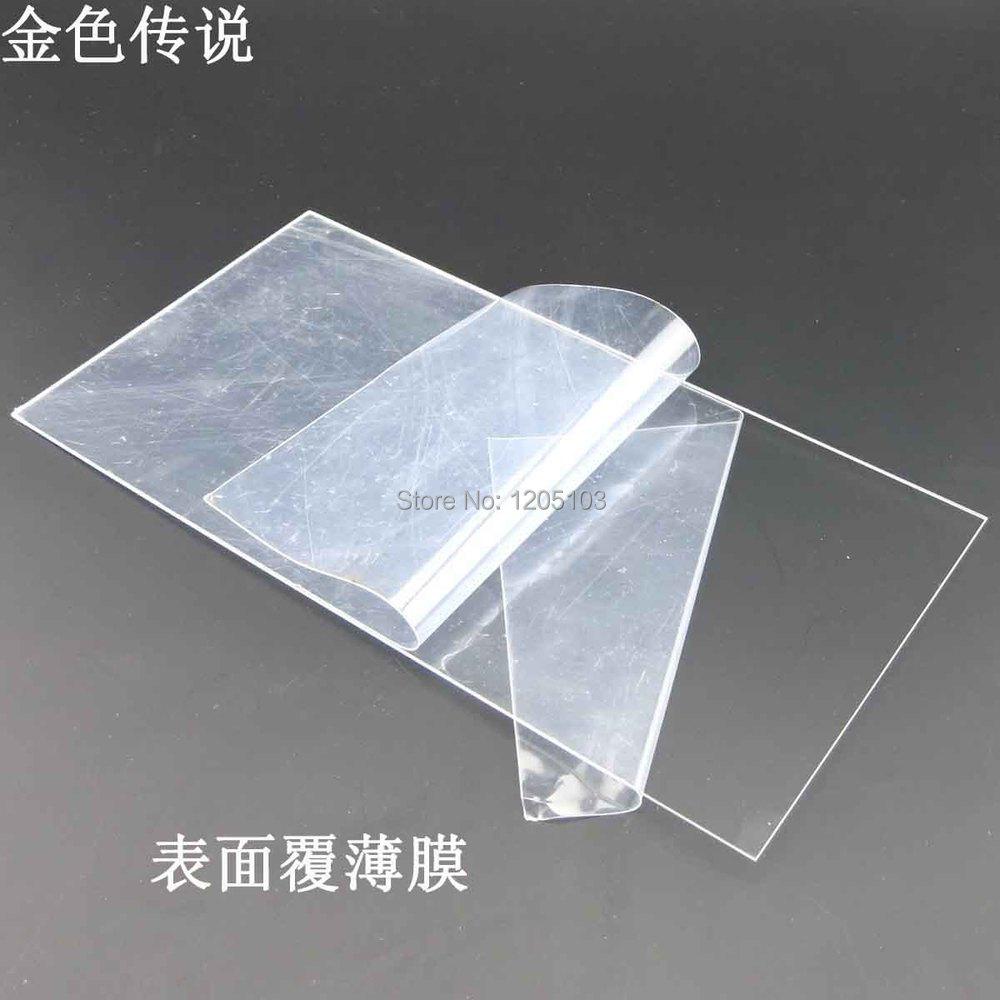 1 mm acrylique plaque de matériau modèle bricolage en plastique ...