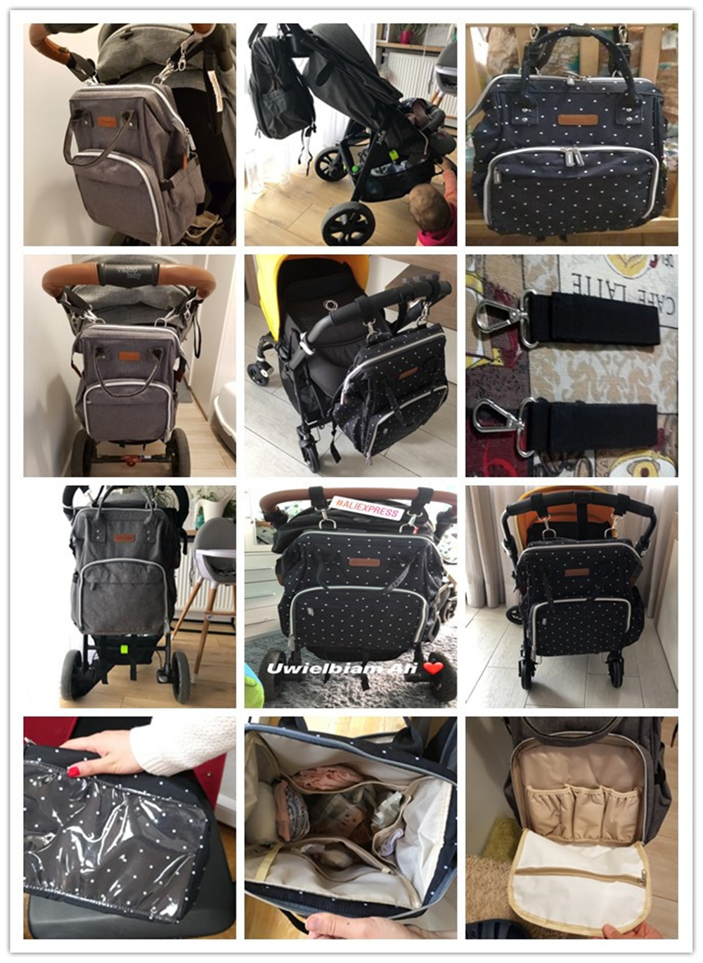 HTB1W3G8cl1D3KVjSZFyq6zuFpXai 23 Colors Fashion Mummy Maternity Nappy Bag Large Capacity Baby Diaper Bag Travel Backpack Designer Nursing Bag for Baby Care