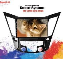 9 ''Octa çekirdek 6 + 128G Android 10.0 araba GPS navigasyon için HYUNDAI SONATA I40 I45 I50 YF 2011-radyo DVD multimedya ses Video