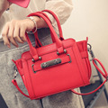 Vintage Shoulder Bags 2016 Fashion Women Bags Female Solid Color Shoulder Bags Office Lady Casual Tote 2016 New Top Bags