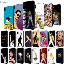 Lavaza Freddie Mercury Queen Soft Case for Apple iPhone 6 6S 7 8 Plus 5 5S SE X XS MAX XR TPU Cover mercury goospery i jelly case for iphone se 5s 5 metallic finish tpu cover black
