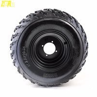 TDPRO New 22x10 10 10 Tire with Rim Wheel 200cc 250cc ATV QUAD BUGGY Go Kart 22x10x10