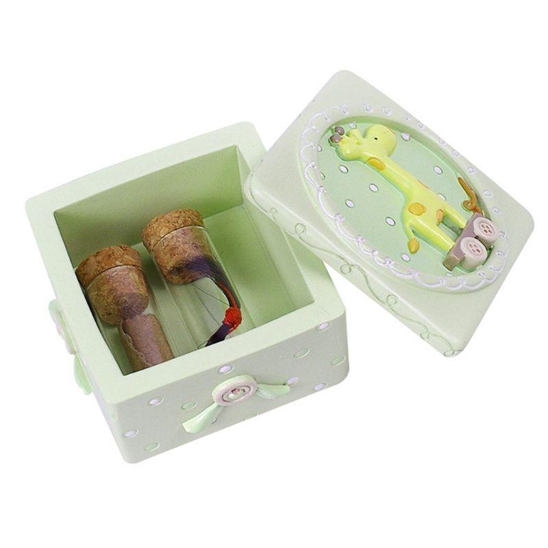 Детские молочные зубы новорожденный пупочный шнур коробка для детских зубов Коллекция коробки сувенир - Цвет: 2