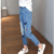 Crianças Jeans Para Meninas Roupa Dos Miúdos Borboleta Cintura Elástica Denim Calças marca 2017 Meninas Adolescentes Calças 5 7 9 11 13 14 anos