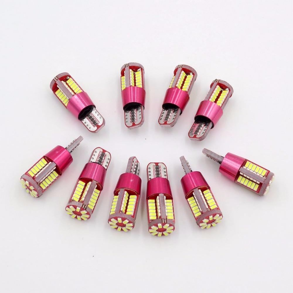 XYIVYG T10 57 SMD 3014 LED Canbus Error Free Parking Light W5W WY5W W16W T15 194